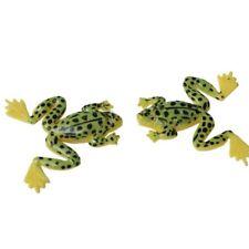 4pcs appat artificiel appat de peche en forme de grenouille du poids de 4.9 g XH
