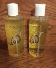 2 Bottles Crabtree & Evelyn Avocado Olive & Basil Bath & Shower Gel Lot