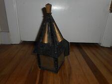 Antique Vintage Old Arts & Crafts Bungalow Gothic Hanging Porch Light Fixture