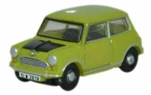 Mr bean  Oxford Miniature Classic Mini Lime Green Scale  n  scale very small