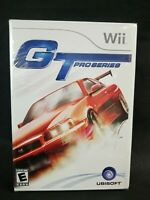 GT Gran Turismo Pro Series Nintendo Wii Video Game Sealed New Collector Quality