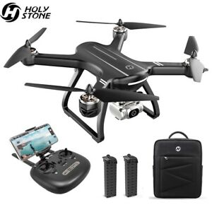 Holy Stone HS700D GPS Drone with 2K FHD Camera Brushless RC Quadcopter 2 Battery