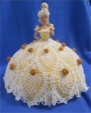 Barbie Bed/Dresser Doll (Pineapple Crochet) Beautiful!!