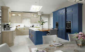 Belgravia Painted Traditional In Frame Kitchen, Rigid Built units in 27 colours
