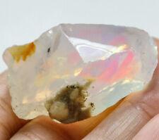 75.4Ct Ethiopian Crystal Black Opal Rough Clarity Enhanced YSJ3603
