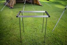 NEW SNOW PEAK IRON GRILL TABLE 3 OUTDOOR CAMPING COOKING CK-147