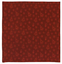 "100% Cotton Red Christmas Themed Jacquard 60""x60"" Tablecloth - Holidays"