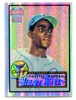 ORESTES MINNIE MINOSO 2001 Topps Archives Reserve 1952 Auto Autograph Card SP