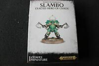 Games Workshop Warhammer Slambo Exalted Hero of Chaos BNIB New Sealed Boxed GW