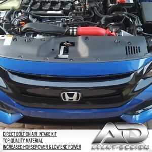 2016-2021 FOR HONDA CIVIC 10th GEN 1.5L Turbo AF DYNAMIC COLD AIR INTAKE RED