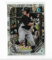 2019 Bowman chrome sparkles refractor parallel Zack Collins BCP-76 020/299