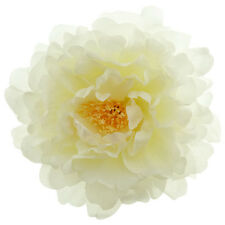 Broche Pince À Cheveux Bibi coiffe mariage danseuse grande Fleur blanche Tissu
