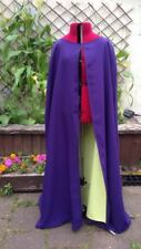 purple cloak with yellow lining (k39)
