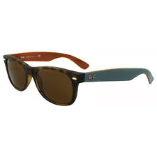 Ray-Ban Sunglasses New Wayfarer 2132 6179 Matt Havana Brown Small 52mm