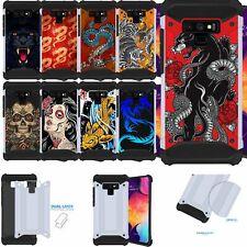 Case for [Samsung Galaxy Note 9] Duo Armor Two Piece Slim Case Design