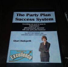 Party Plan Success System - Shari Hudspeth - Cds Only - No Workbook