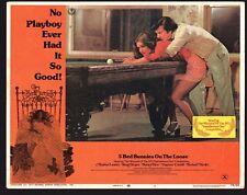 5 BED BUNNIES LOOSE Lobby Card (Good+) 1974 Morena Landen Movie Poster Art 1177