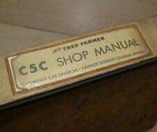 Can Car Tree Farmer C5c Skidder Repair Shop Service Manual Book Owner Operator