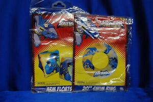 Batman Rings & Bat man  Arm Floats New Batman  Water Toys COOL Summer FUN