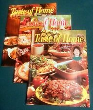 Lot Of 3 TASTE OF HOME Cooking Magazines VGC+ 1995