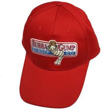 Bubba Gump Shrimp Adult Baseball Cap Company Running Jog Hat Forrest Costume