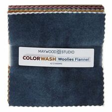 Color Wash Woolies Flannel By Maywood Studio - Charm Pack