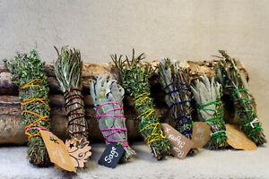 Smudge Sticks Handmade - Sage Rosemary Thyme  Cleansing Negativity Yorkshire UK