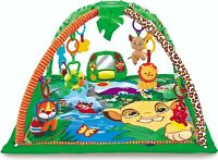 Baby Gym Playmat Musical Garden Play Mat & Fun Sensory Toys & Mirror