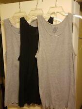 Fruit Of The Loom Mens Athletic Sports  Basic Sleeveless Vest/Tank Lot 3 XL