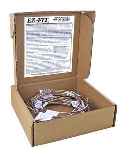EZ-Fit Brake Line Kit - 1999-2002 Chevrolet, GMC Sierra, Silverado 1500 1/2 Ton