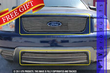 GTG 2005 - 2007 Ford Freestyle 3PC Polished Overlay Billet Grille Grill Kit