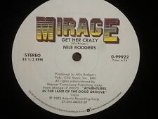 """Nile Rodgers """"Get Her Crazy"""" LP"""