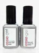 ESSIE GEL - BASE & TOP COAT COMBO - UV LED GEL POLISH 12.5ml/ .42oz