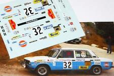 DECAL CALCA 1/43 SEAT 127 FL A. RIUS RALLY CATALUNYA 1983
