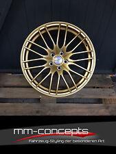 19 Zoll Borbet CW4 Felgen für Audi A3 A6 S3 RS3 Sportback Cabrio Avant Gold TT S