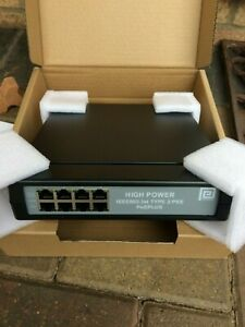 Phihong POE125U-4-AT-R (4-Port Injector) – IEEE802.3at Compliant - Free P&P