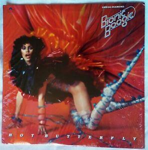 GREGG DIAMOND 🎶HOT BUTTERFLY🎶 ALBUM VINYL 7 TITRES 🎶 US 🇺🇲 1978 🎶 POLYDOR