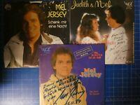 Judith & Mel Mel Jersey 3 Singles mit Widmung und Autogramm H17214