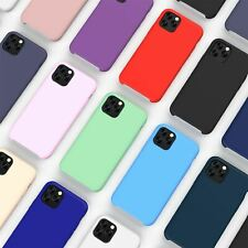 For Apple iPhone XR Xs Max X 8 7 Plus 6 Se 2020 Case Cover Proof Silicone Liquid
