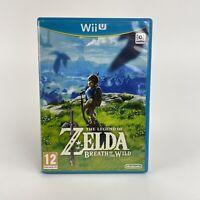 Legend of Zelda - Breath of The Wild (Wii U, 2017) PAL - 100% Complete Game VGC