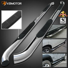 """For 05-18 Tacoma 3"""" Stainless Double Cab Running Board Side Step Bar Nerf Bars"""