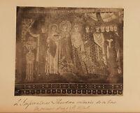Italia Mosaici Basilica Saint-Vital Ravenna Vintage Albumina Ca 1880
