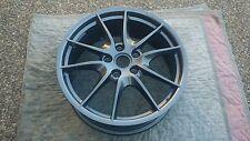 Porsche 981 OEM Factory One (Single) Front Carrera S III Stain Platmium Wheel
