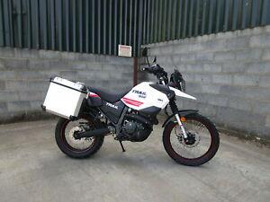 Genuine WK White Knuckle Bikes Trail 400 Luggage Side Box Metal Panniers Kit
