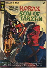 Korak Son of Tarzan Comic Book #7 Gold Key Comics 1965 FINE-