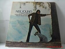 NEIL YOUNG WITH CRAZY HORSE-(LP)-EVERYBODY KNOWS THIS IS NOWHERE - REPRISE- 1969