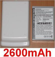 Hülle + Batterie 2600mAh art A2K40-EB3010-Z0R Für Gigabyte GSmart T600