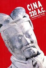 CINA 220 A. C. I GUERRIERI DI XI'AN MOSTRA VENEZIA ROMA 1994