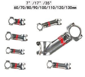 UNO Bike Vorbau 7/17/35° MTB Rennrad Lenker Vorbau 31,8 * 60 - 130 mm Aluminium