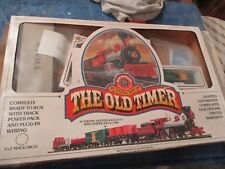 """HO Scale: Bachmann """"Old Timer"""" set Box, partial set + extras"""